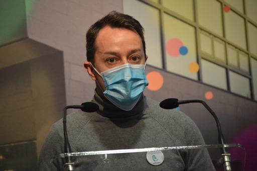 Diego Rodríguez, concejal de Festejos.