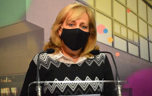 Marí Carmen Céspedes, Máscara Mayor del Carnaval de Miguelturra 2020.